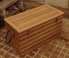 Solid Teak Rope Chest